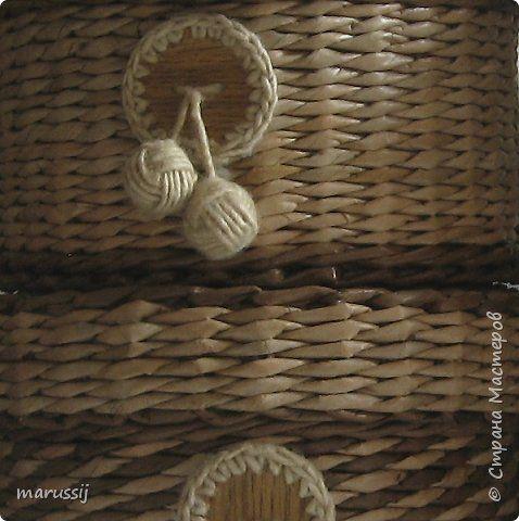 Поделка изделие Плетение Здравствуйте Бумага газетная Трубочки бумажные фото 3