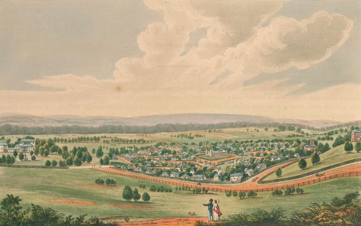 Parramatta, New South Wales 1824; Joseph Lycett 1774?-1828