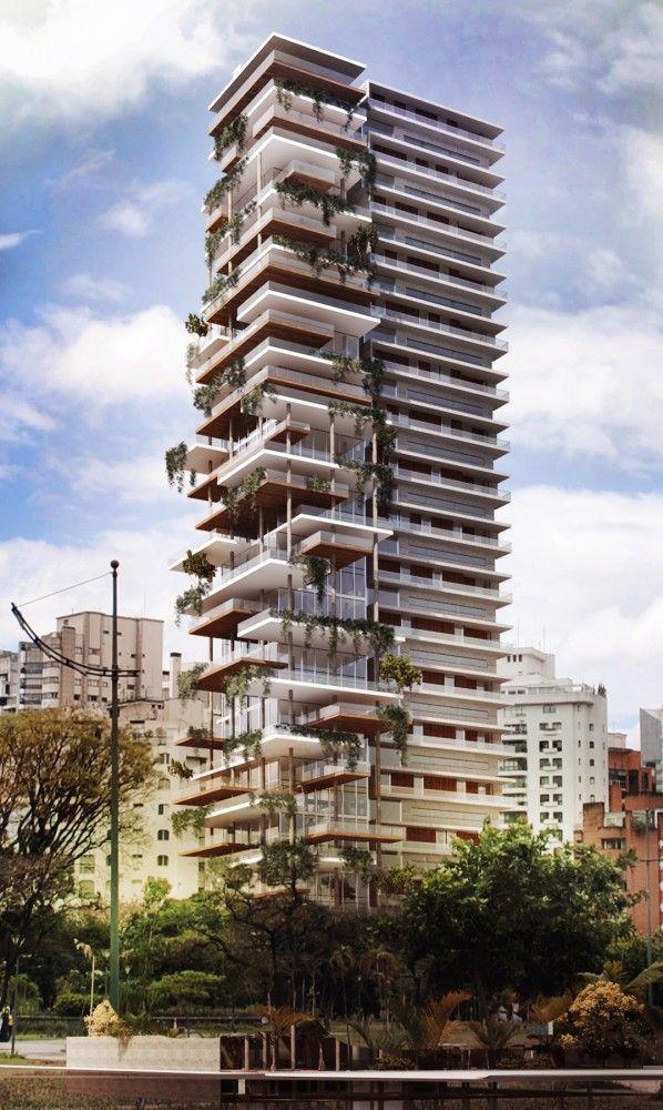 Edifício Itaim Proposal / FGMF Arquitetos Edifício Itaim Competition Proposal (2) – ArchDaily