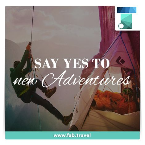 #TravelFabulously #adventure  Plan a #AdventureTrips & take risks doing something new and experience the adventure.