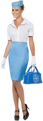 Pan Am Stewardess Costume.