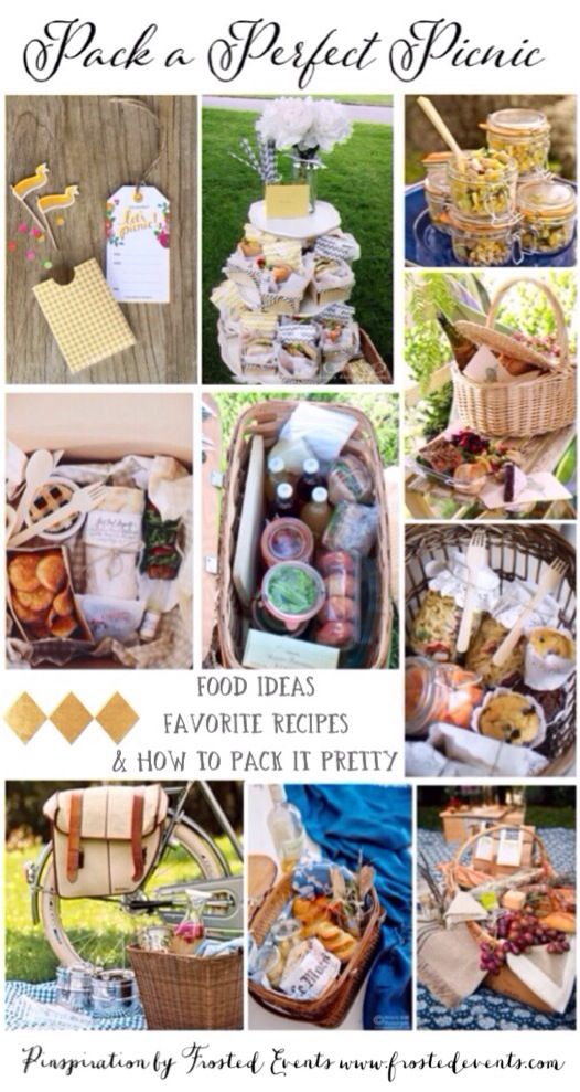 Pack a Perfect Picnic recipes, ideas, inspiration and how to pack it pretty   www.frostedevents.com