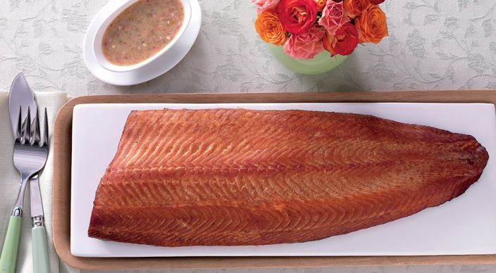 Hot-Smoked, Bourbon-Cured Salmon | Weber.com