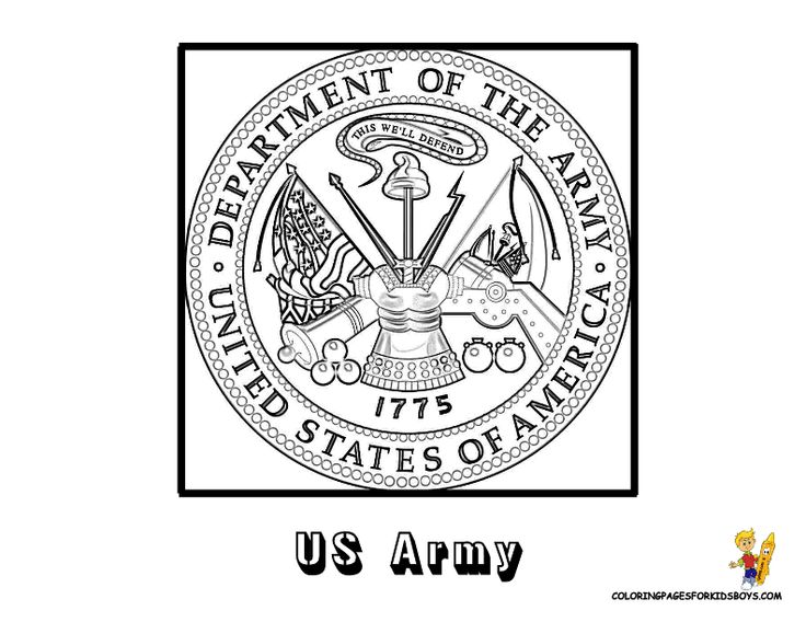 lots of free military coloring pages including the seal for each branch of the military visit this website and keep scrolling down the page to see the many - Patriotic Military Coloring Pages