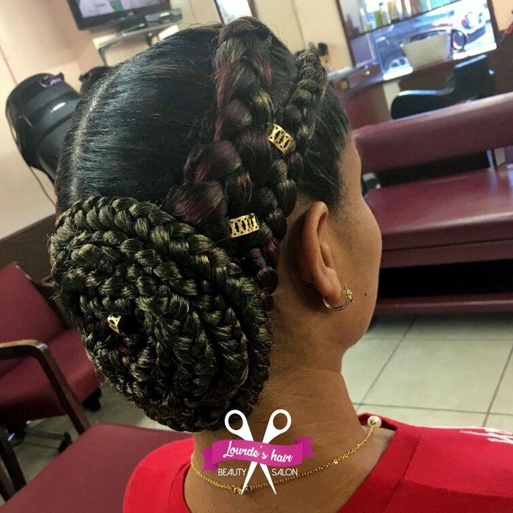 Siempre innovamos con nuestros peinados! #BeautySalon #LourdesHairBS #Cabello #peinados