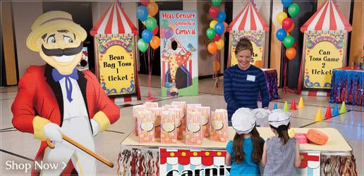 Carnival Theme Party for Adults | Carnival Party Supplies , Big Top Carnival Party