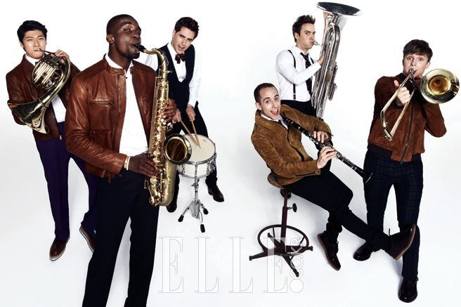 2014.12, ELLE, Zhang Yuan, Sam Okyere, Enes Kaya, Guillaume Patry, Tyler Rasch, Julian Quintart, Abnormal Summit