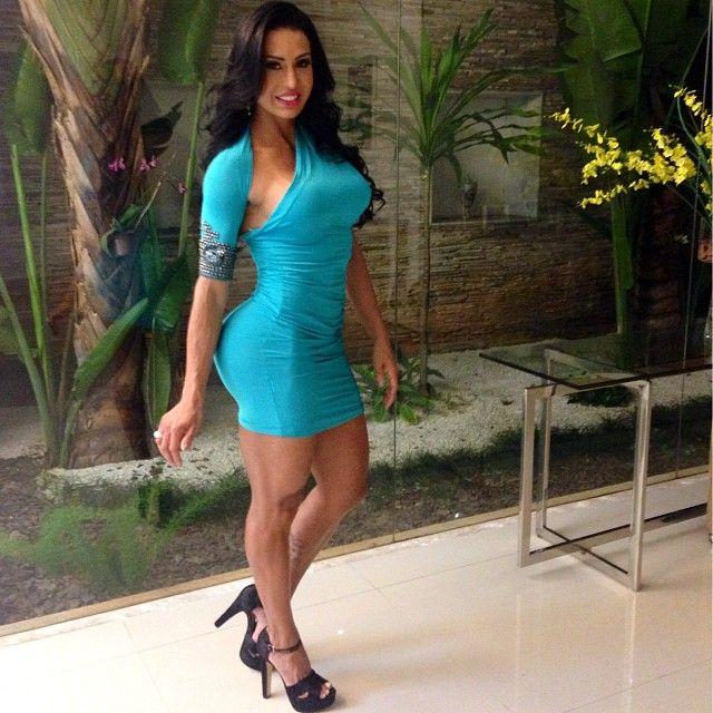Gracyanne Barbosa Hot Latinas Dresses Bodycon Dress