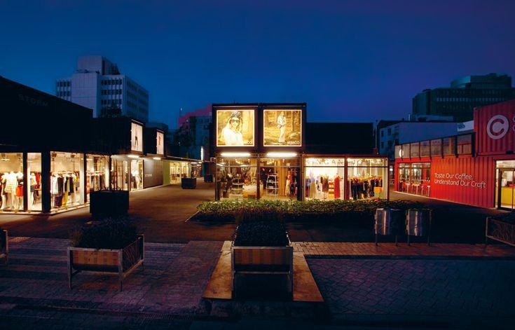 Re:START Mall, Christchurch   Australian Design Review