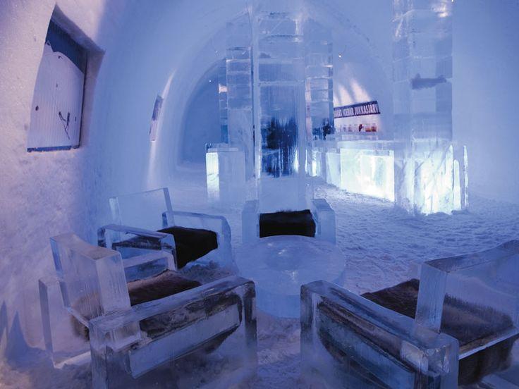 Ice Hotel, Un hotel de hielo en Suecia http://www.icono-interiorismo.blogspot.com.es/2016/01/ice-hotel-un-hotel-de-hielo-en-suecia.html