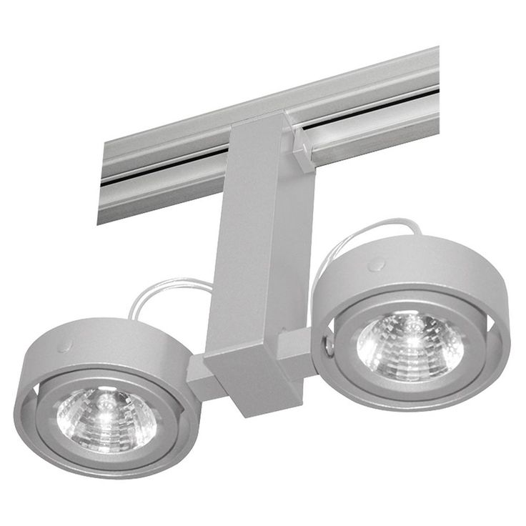 Duo Low Voltage Light Head for Juno Track at Destination Lighting