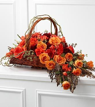 The FTD Fare Thee Well Arrangement is a rich display of sun-kissed elegance that symbolizes the dawn of their eternal light. at $197.90  http://www.bboescape.com/products/buy/741/say-it-with-flowers/FTD-Fare-Thee-Well-Arrangement