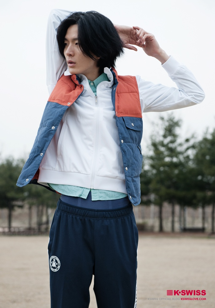 KSWISS sports look #kswiss_JK  #kswissloveblog
