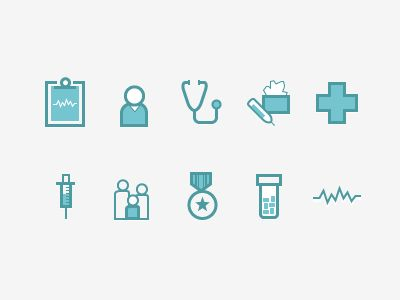 Med icons
