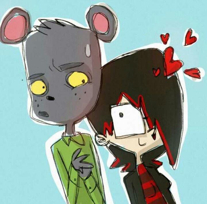 Paulette e Isaac, según @peerro *---*