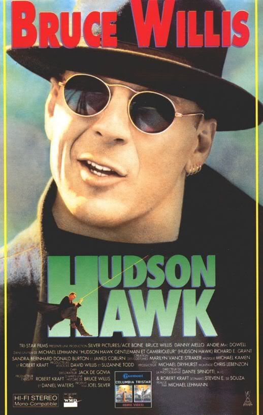 Hudson Hawk 1991: not many in my generation have seen or herd of this movie but I love it