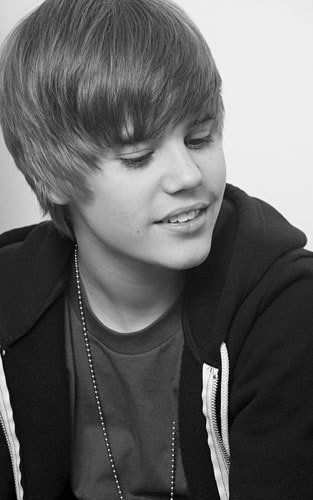 My best black & white #Justin #Bieber photo HOTTEST CANADIAN :)