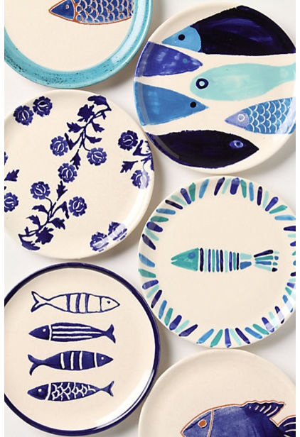 dinnerware by Anthropologie
