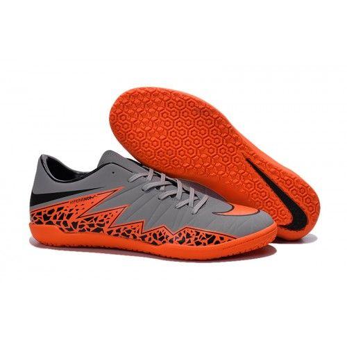 Nike Hypervenom - Nike Hypervenom Phelon II IC Mænd C Grå Orange Sort
