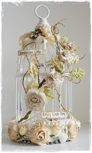 Altered Bird Cage by Lenet Mos