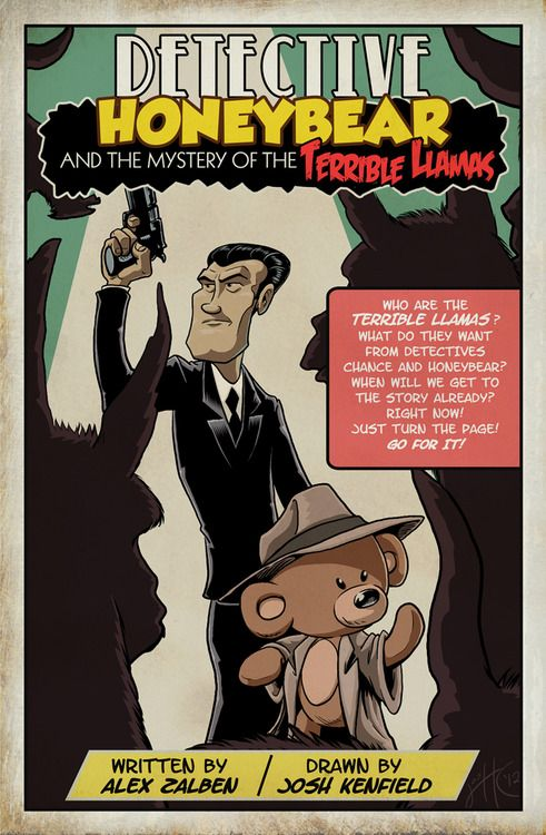 Detective Honey Bear and the mistery of the terrible llamas