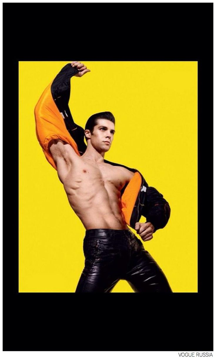 Roberto Bolle is a Dancing Superhero for Vogue Russia September 2014 Issue image Roberto Bolle Vogue Russia 005