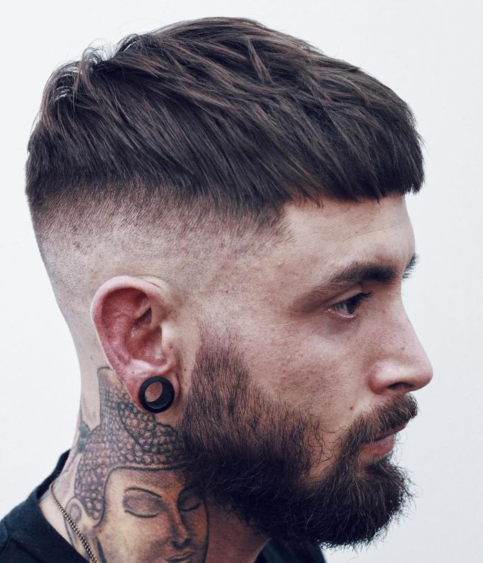 coiffure homme court cheveux homme
