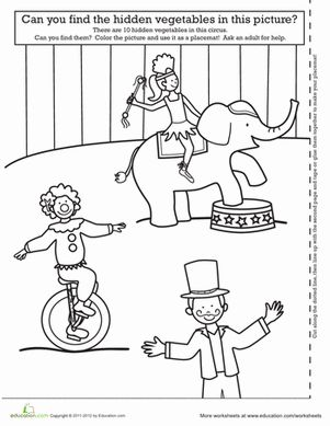 Number Names Worksheets fun activity for kindergarten : 1000+ ideas about Circus Activities on Pinterest | Circus crafts ...