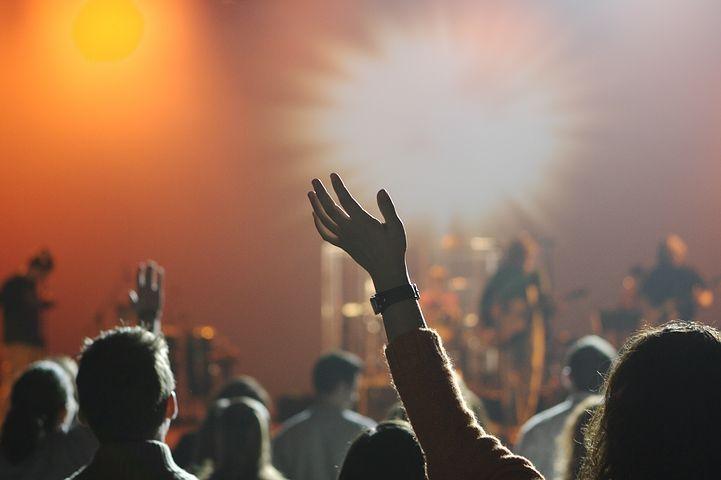 Audiencia, Concierto, Música