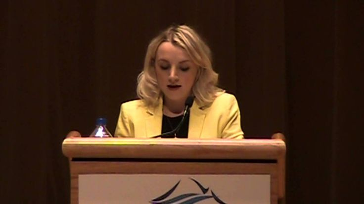 Evanna Lynch at WWU. Her dream of becoming a cat shows something much deeper going on. A beautiful speech that has more depth than one would imagine for a woman in her early 20s.