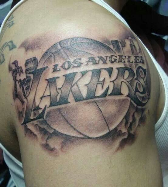 Bad ass tattoo love the lakers beautiful art of ink for Laker tattoo designs