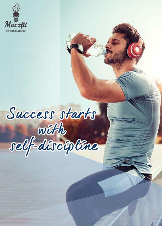 Sukces zależy tylko od Ciebie! #success #lose #weight #food #diet #catering #man #quote #cytat #motywacja #inspiracja #forma #wakacje #befit #discipline #nevergiveup #goahead