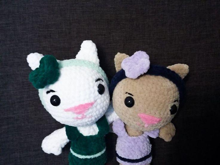 amihurumi cats pattern Tara the cat by Sarsel