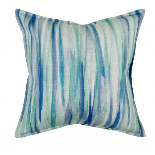 Hertex Oceana is bold, exotic with larger than life prints. Washed stripes, pointillist colour fields and shades of ombre add to the story.