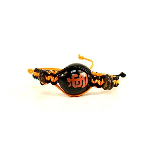 San Francisco Giants Bracelet. The Giants are the 2014 World Series winners and what a way to celebrate than with this custom style bracelet. Ships 3-5 days out of the bay area California.