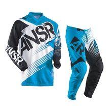 Answer ANSR Syncron Blue Black Kids Gear Set