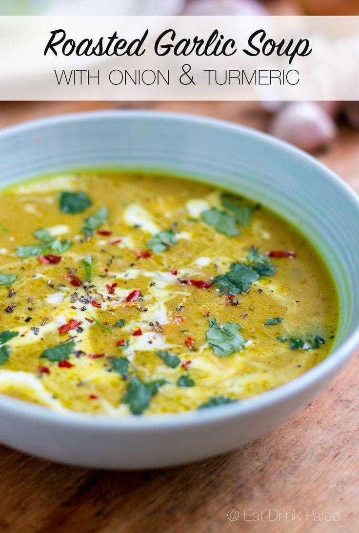 Thirty-Clove Garlic and Onion Soup