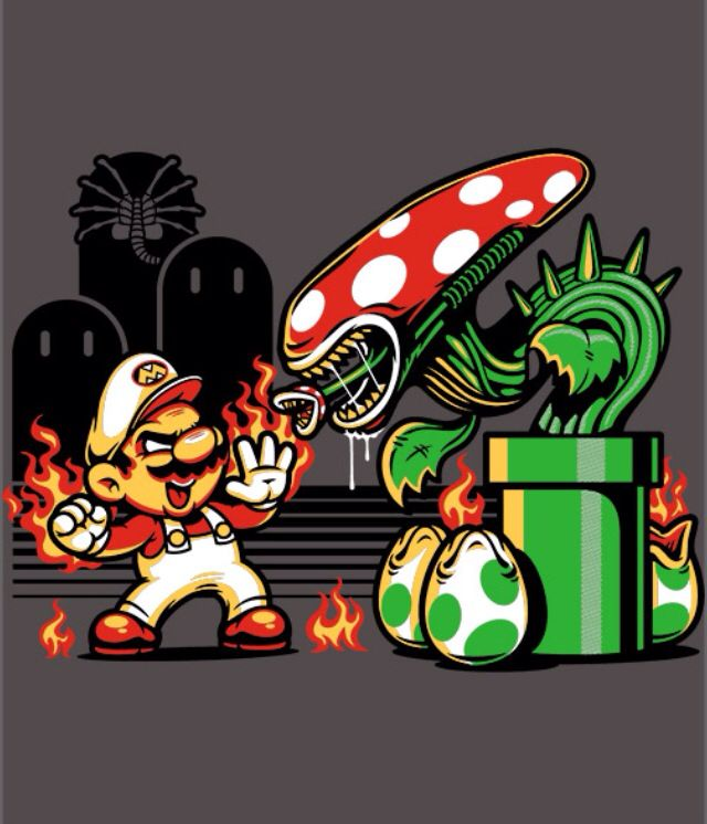 Game Over Man, Game Over! by @harebraineddesign