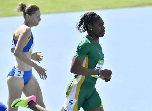 Caster Semenya divides opinion in Rio Olympic debut:  August 17, 2016  -      Caster Semenya divides opinion in Rio Olympic debut:  August 17, 2016  -     South Africa's Caster Semenya, right, and Romania's Claudia Bobocea compete in a women's 800-meter heat during the athletics competitions of the 2016 Summer Olympics at the Olympic stadium in Rio de Janeiro, Brazil, Wednesday, Aug. 17, 2016. (AP Photo/Martin Meissner)