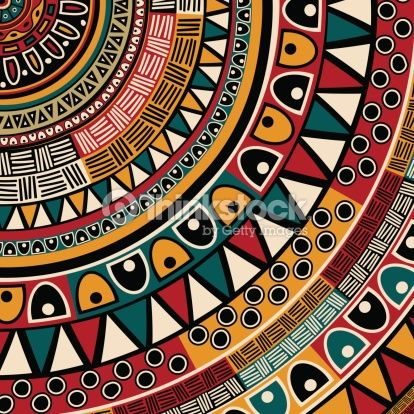 Clipart vectoriel : Tribal ethnic background