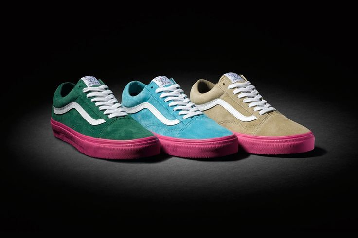 """Tyler, the Creator Links Up with Vans Syndicate on an Old Skool Pro """"S"""" Three Pack"""