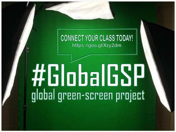 Global Green Screen Project:  https://twitter.com/GustafsonBrad/status/629844159025668096