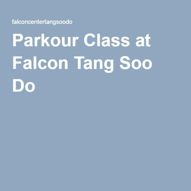Parkour Class at Falcon Tang Soo Do