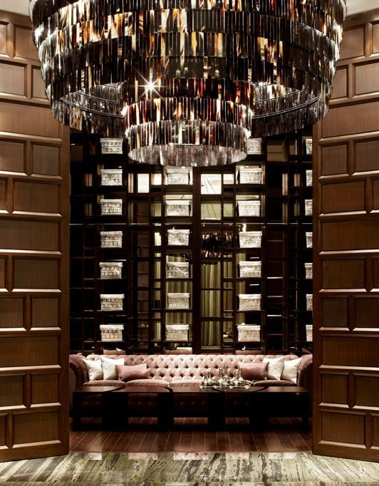 St. Regis Hotel in Mexico City, Mexico | Designed by Yabu Pushelberg....