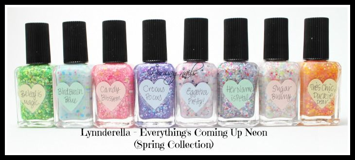 Lynnderella Spring Collection - Everything's Coming Up Neon