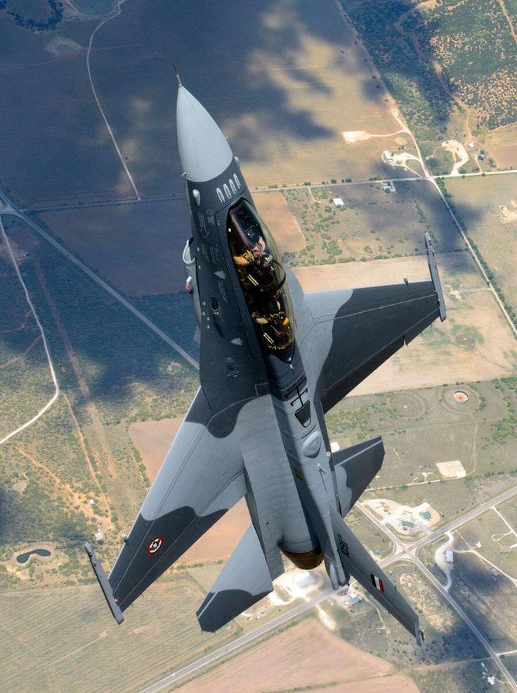 Iraqi AF F-16IQ out on its first flight.
