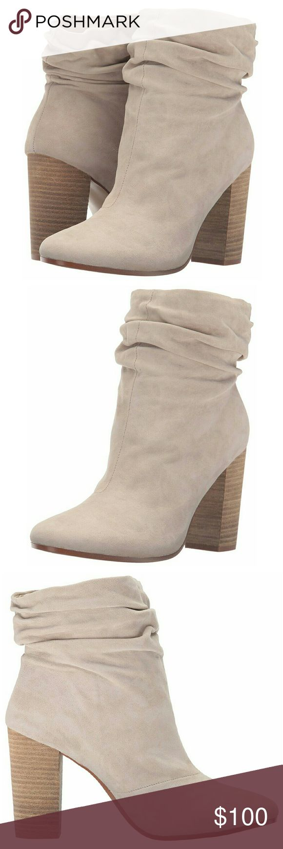 *NEW* Chinese Laundry Kristin Cavallari Boot New in Box Chinese Laundry Kristin Cavallari Women's Georgie Suede Slouch Boot -Slouchy mid calf boot/bootie Size: 7.5, Color: Grey - Suede (color looks similar to light tan/nude, first 3 pictures show the color best) -100% Kid Suede -Heel measures approx 4in Chinese Laundry Shoes Ankle Boots & Booties