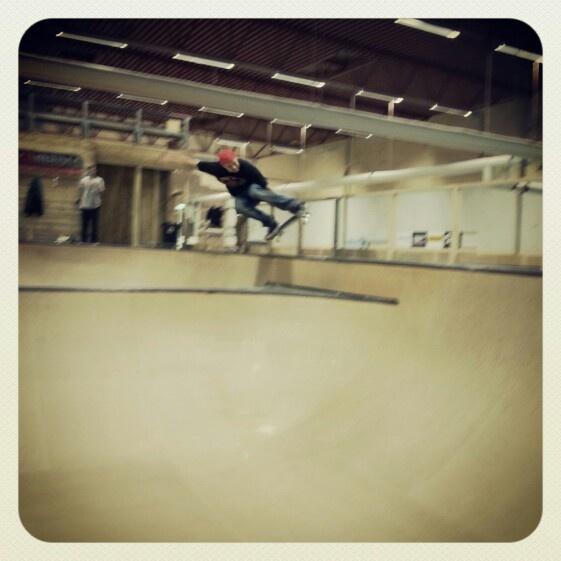 Stajne ripping @ Slottsmöllans Skatepark. #hstdskate