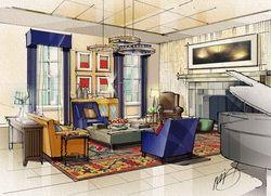 Interior Design Rendering Techniques | Studio E Renderings   Portfolio
