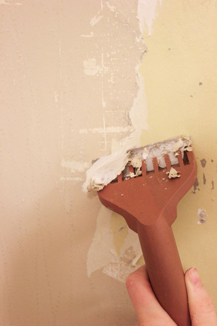 How to remove wallpaper paste from sheetrock - How To Remove Wallpaper Without Chemicals Even If It S Been Painted Over